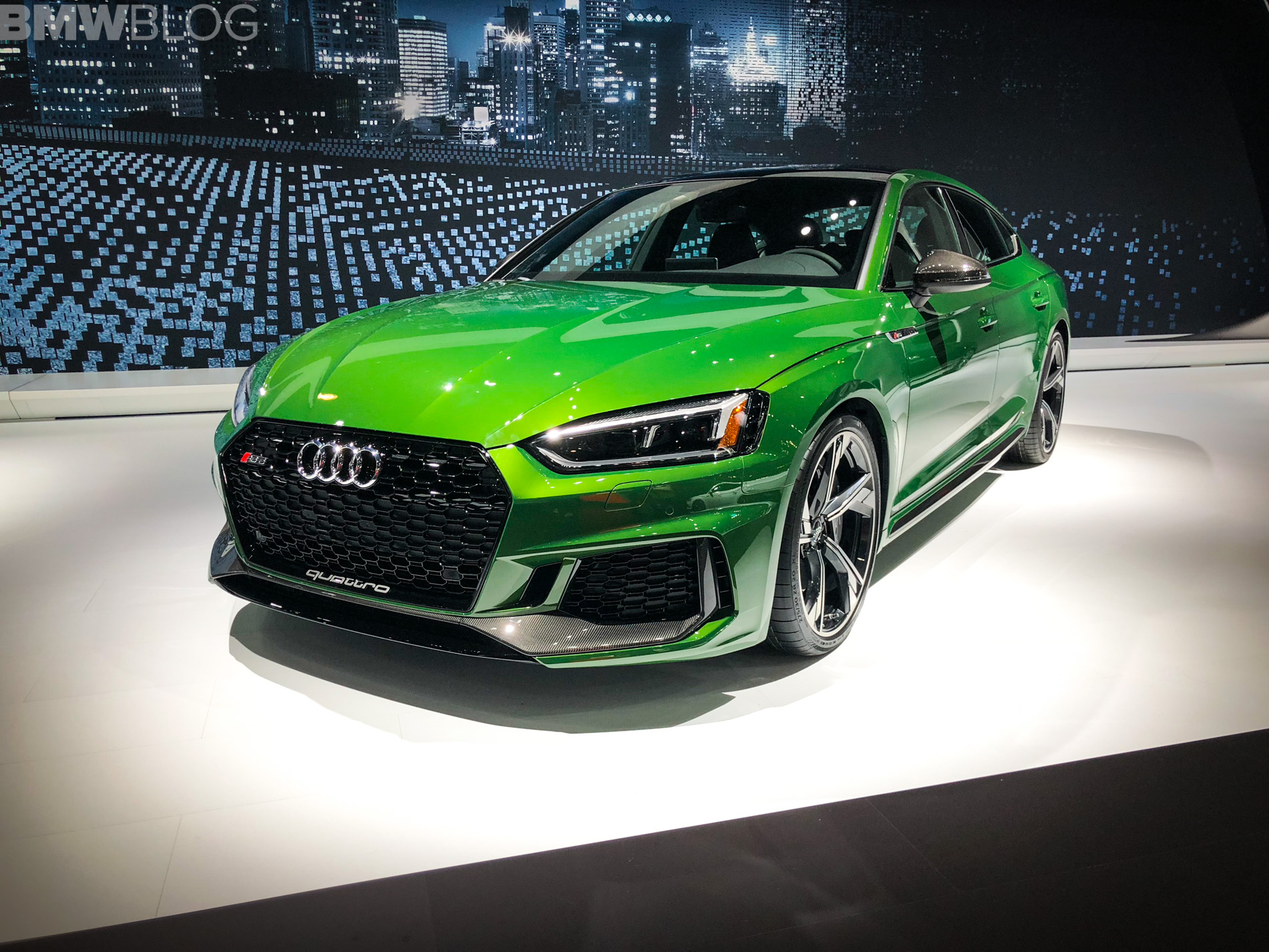 2018 Audi RS5 Sportback New York Auto Show photos 6