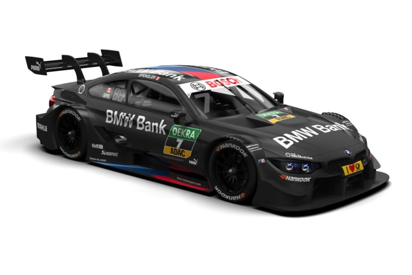 2018 BMW Bank M4 DTM 1 830x553