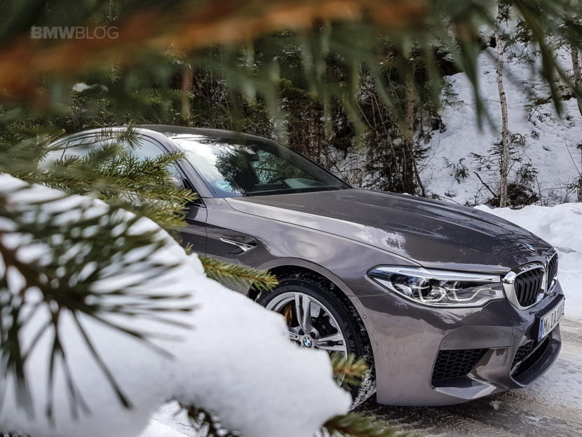 2018 BMW M5 Champagne Quartz 11 830x623