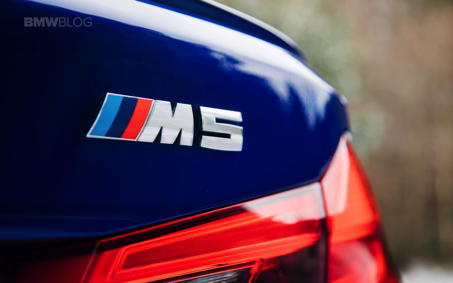 2018 BMW M5 Saloon UK 01