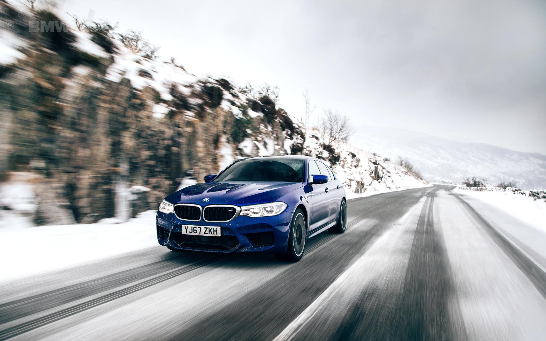 2018 BMW M5 Saloon UK 24