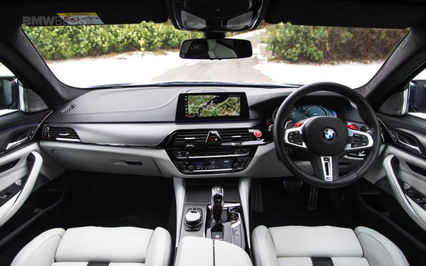 2018 BMW M5 Saloon UK 38 830x519
