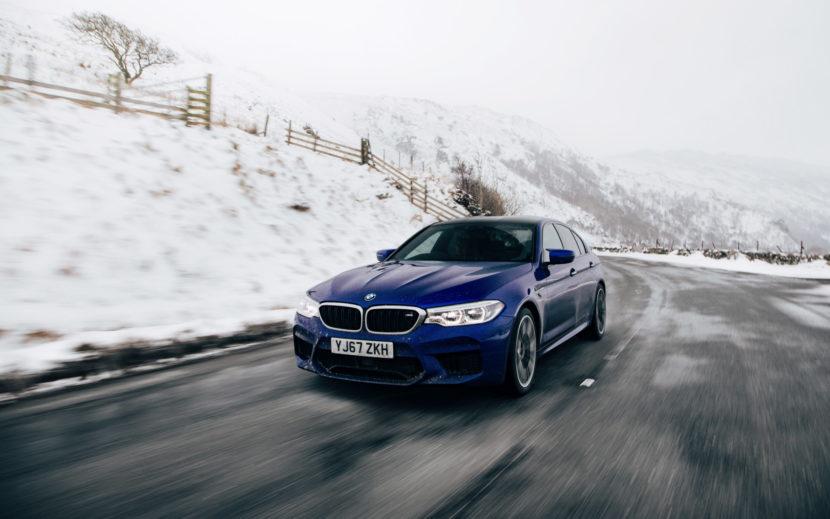 2018 BMW M5 Saloon UK 42 830x519