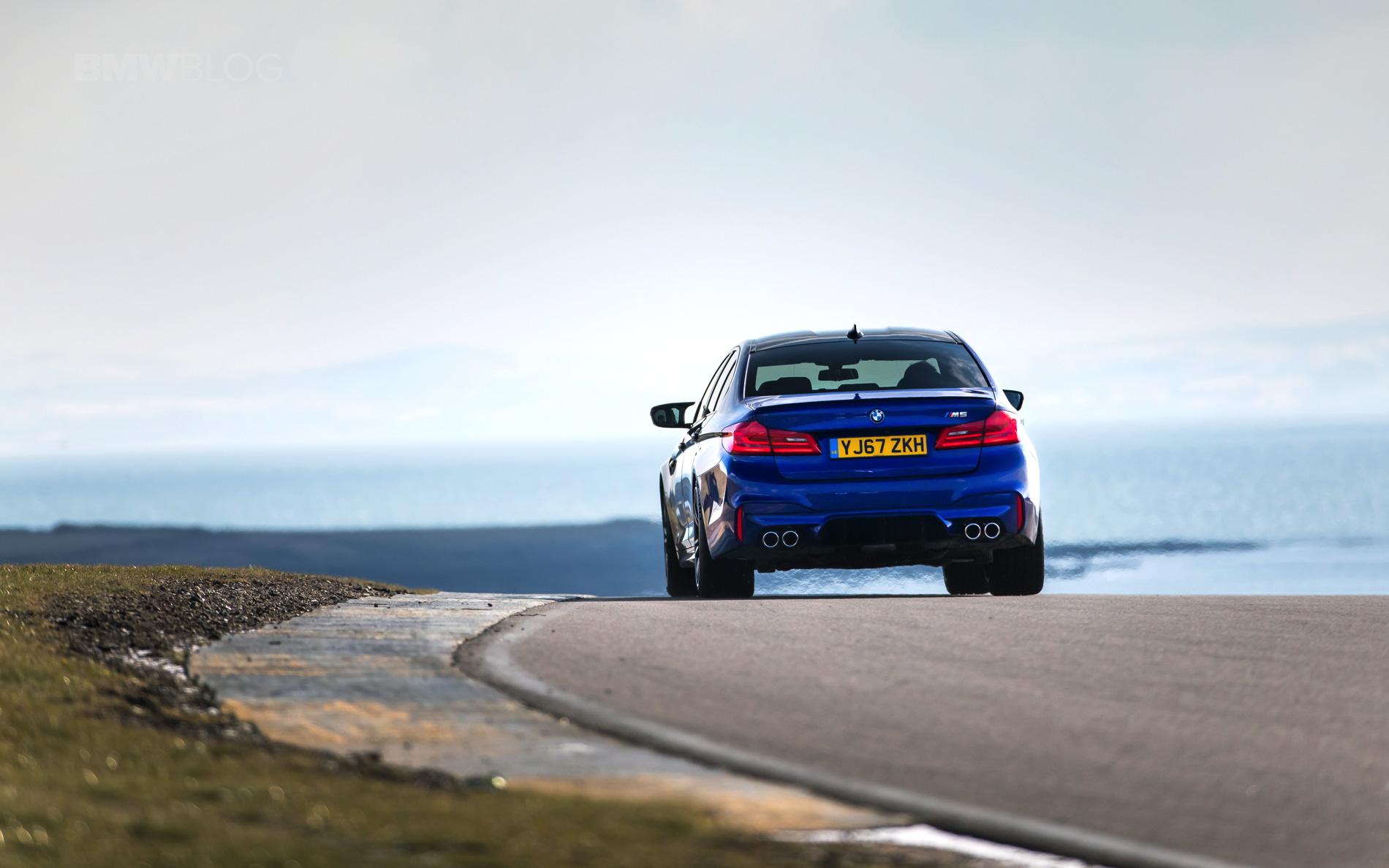 VIDEO: F90 BMW M5 vs Mercedes-AMG E63 S -- Drag Race