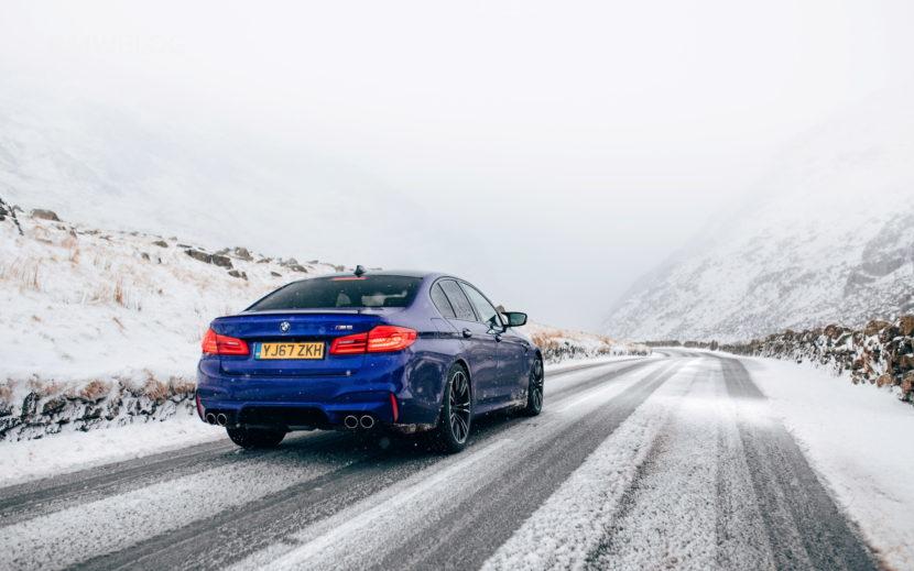 2018 BMW M5 Saloon UK 45 830x519
