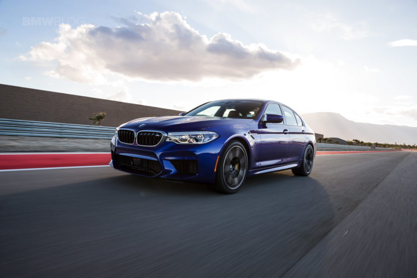 2018 BMW M5 review test 118 830x553