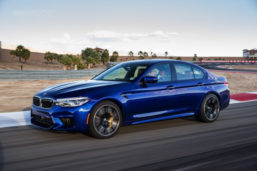 2018 BMW M5 review test 123 830x553