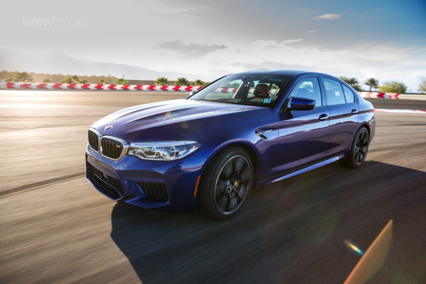 BMW M5 Competition Package will launch this year