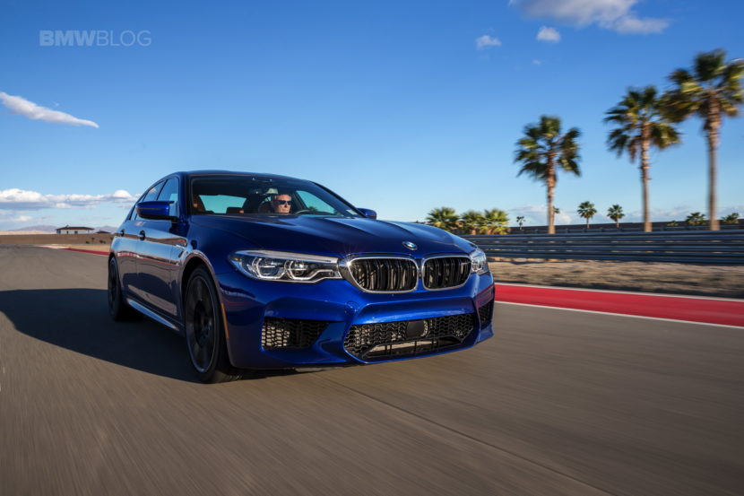 2018 BMW M5 review test 128 830x553