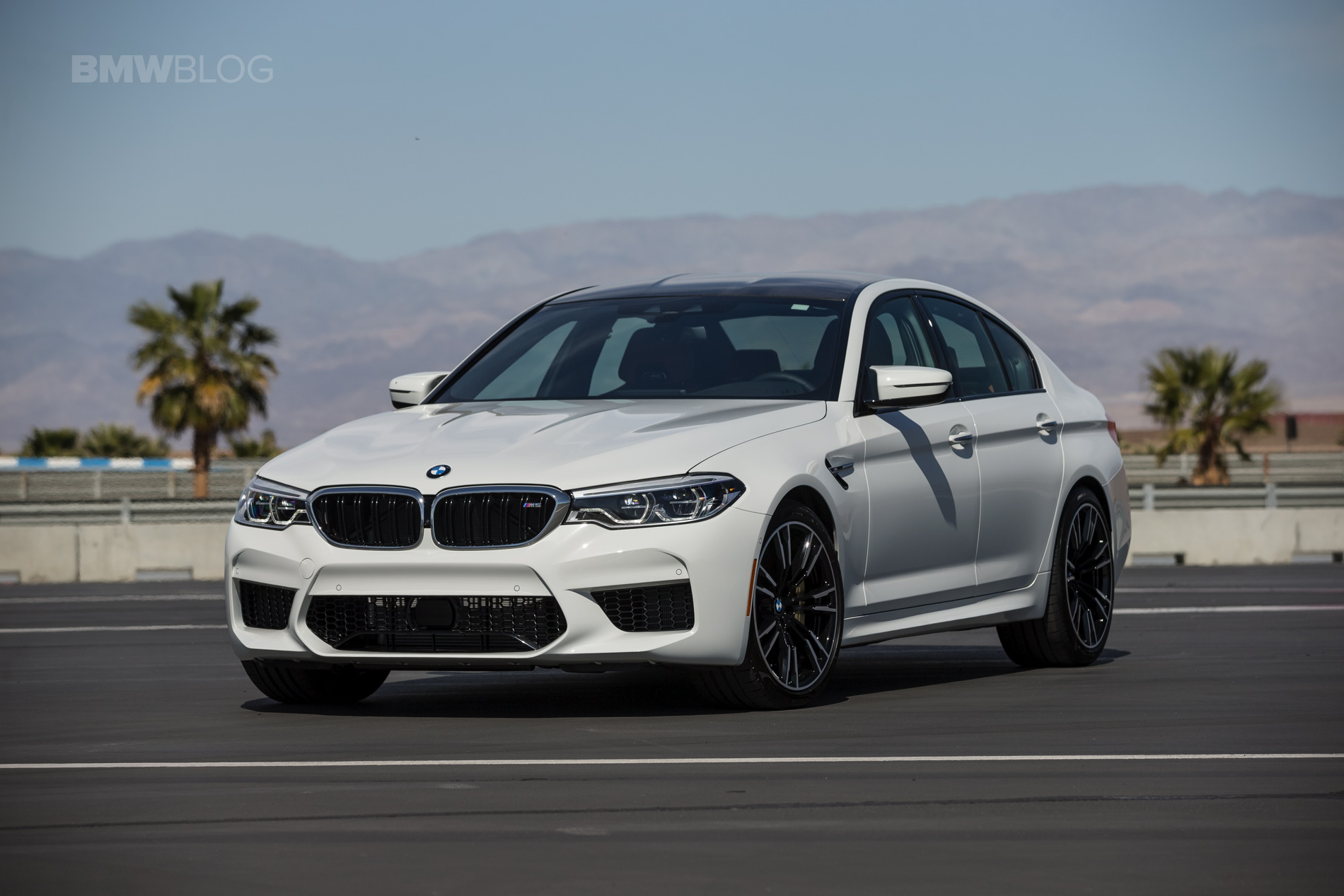 2018 BMW M5 review test 19