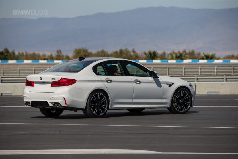 2018 BMW M5 review test 28 830x553
