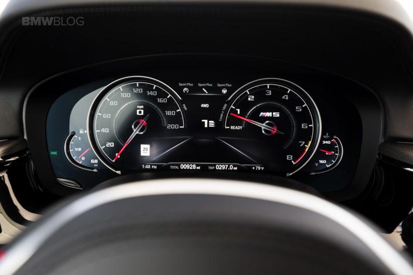 2018 BMW M5 review test 42 830x553