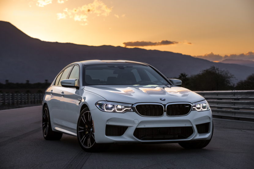 2018 BMW M5 review test 70 830x553