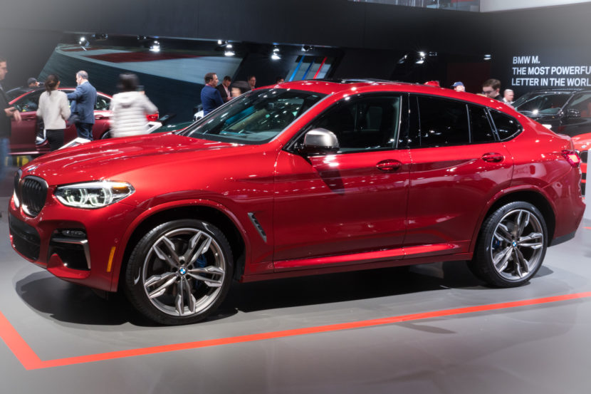 2018 BMW X4 New York Auto Show 17 830x553