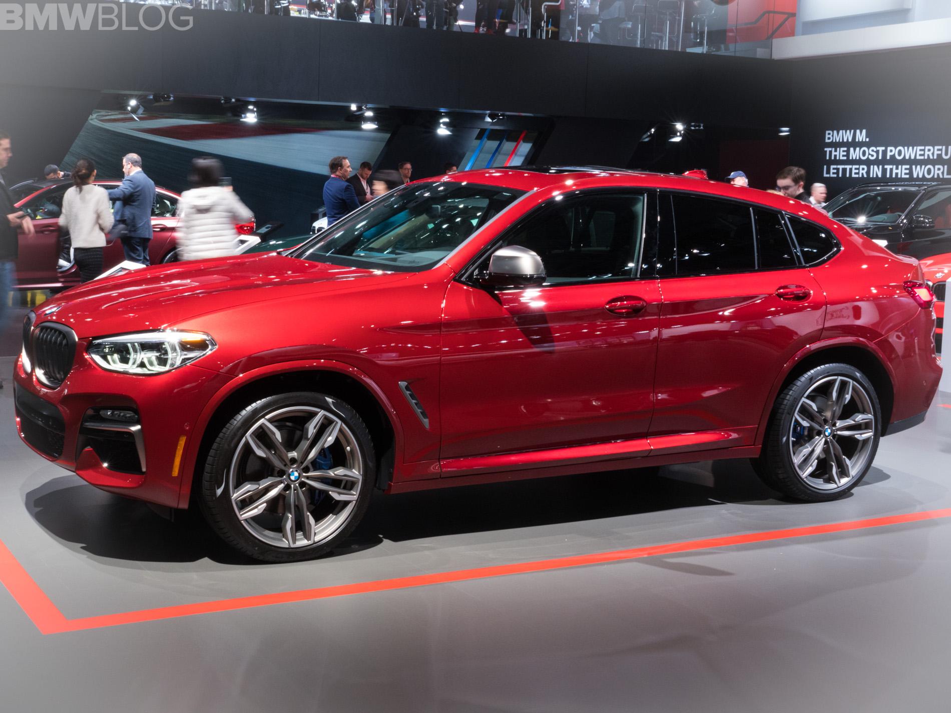2018 BMW X4 New York Auto Show 17