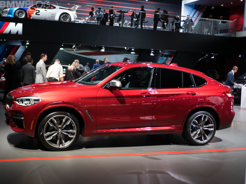 2018 BMW X4 New York Auto Show 9 830x623