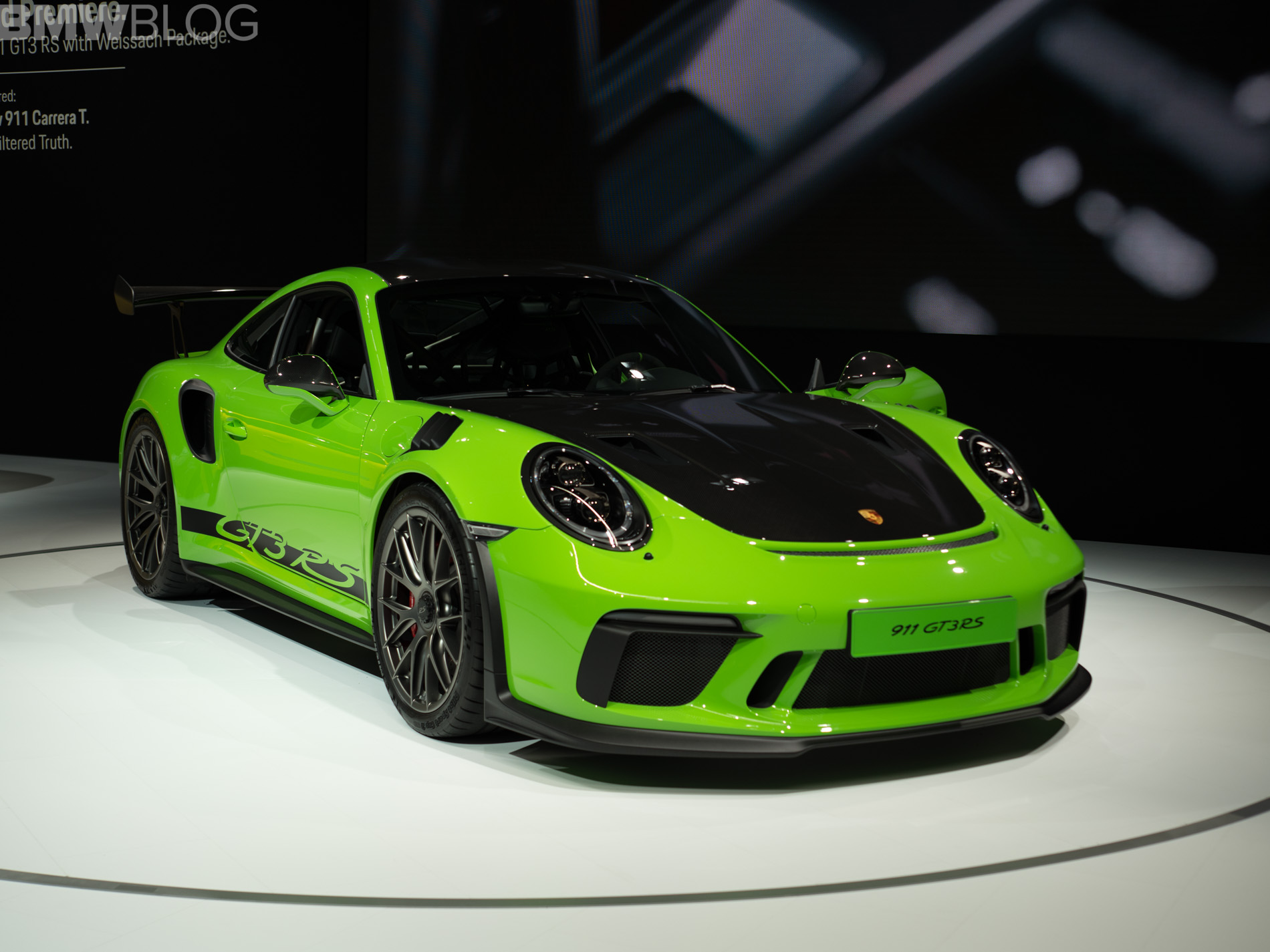 2018 nyias porsche 911 gt3 rs. Black Bedroom Furniture Sets. Home Design Ideas