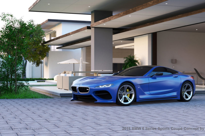 BMW 6 Series Render 5 of 9 830x553