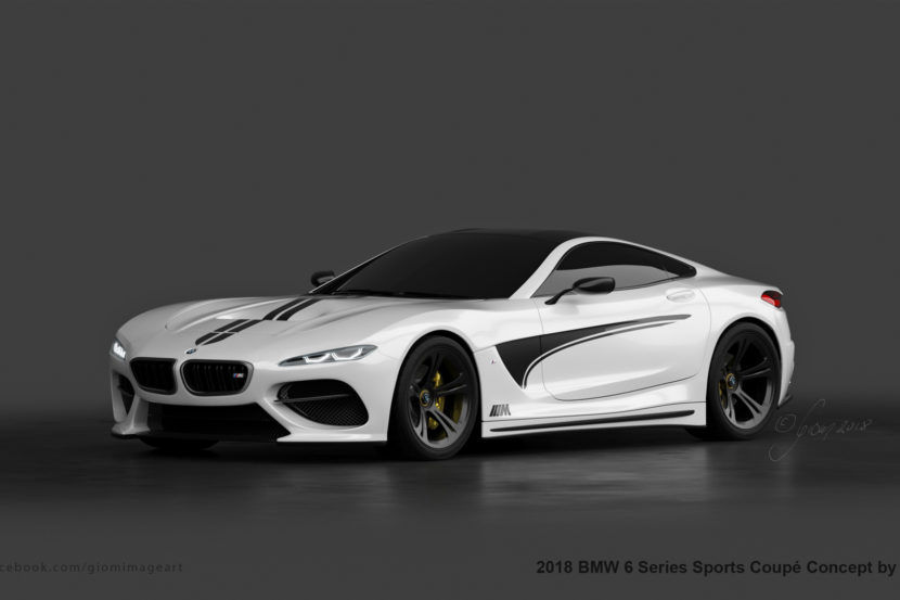 BMW 6 Series Render 8 of 9 830x553