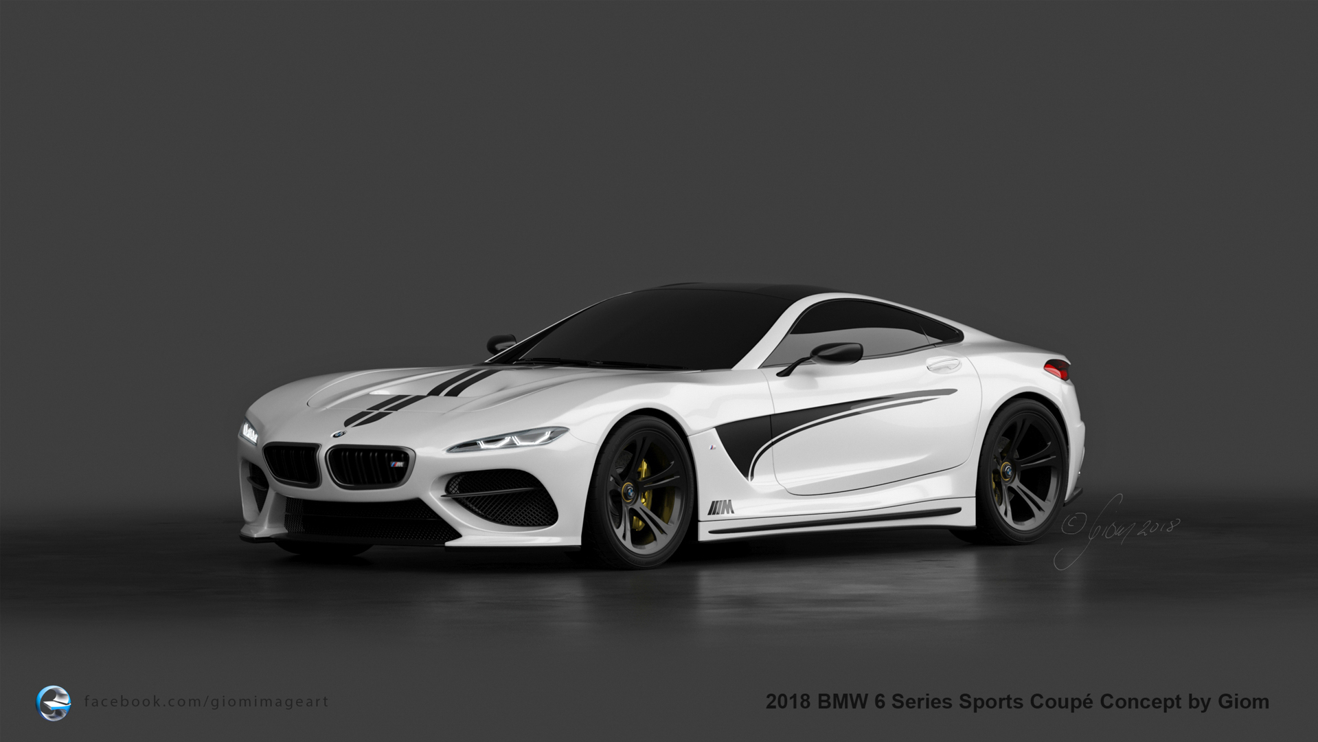 Bmw 6 Series Sport Coupe Rendered