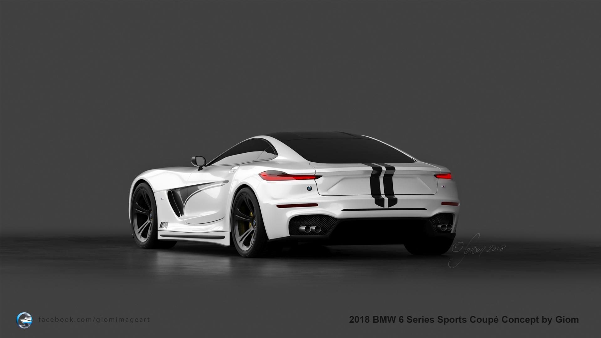 BMW 6 Series Render 9 of 9