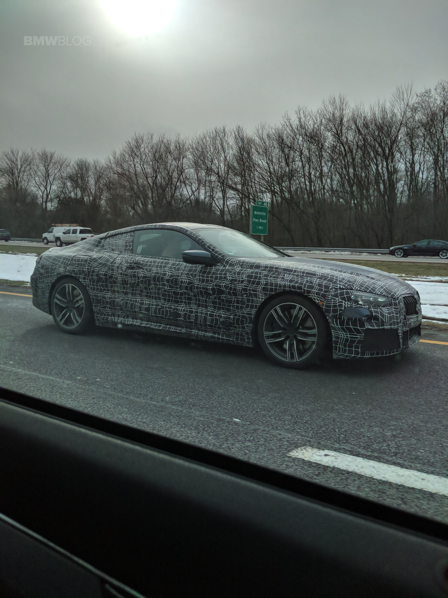 BMW 8 Series Coupe NJ spied 01