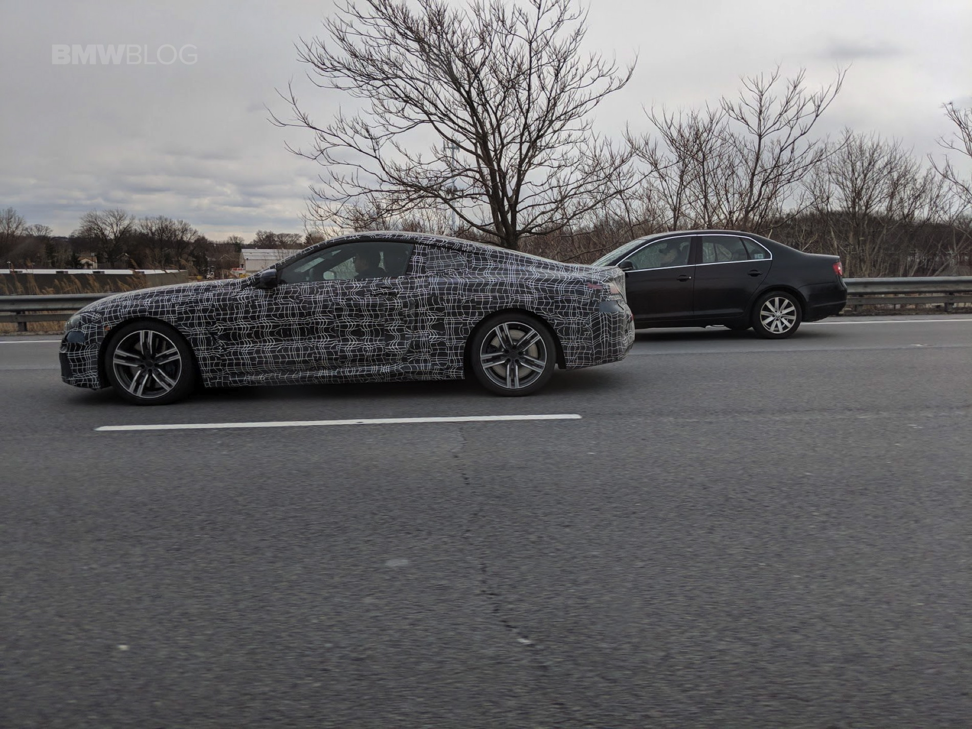 Upcoming Bmw 8 Series Coupe Spotted In New Jersey