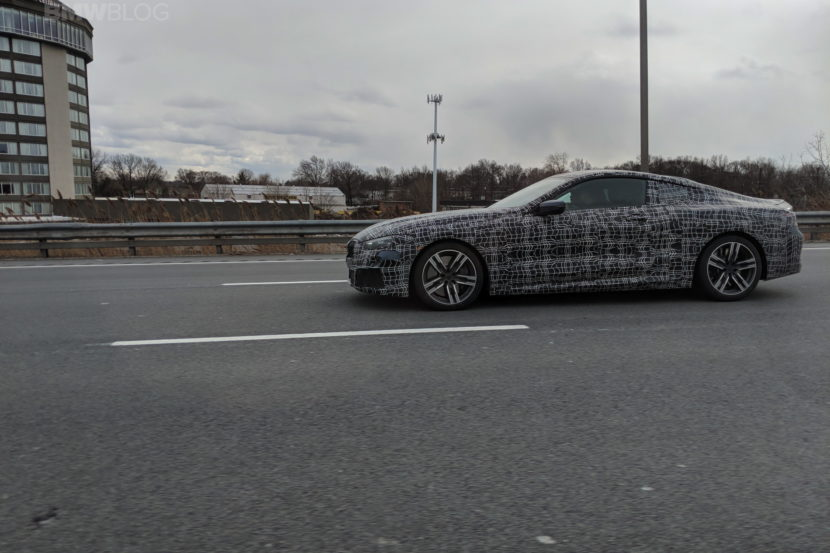 BMW 8 Series Coupe NJ spied 10 830x553
