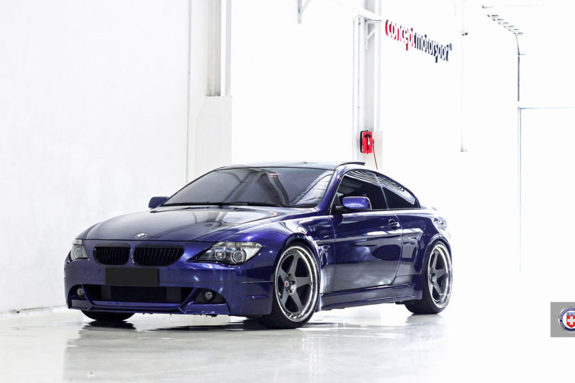 BMW E63 with HRE Classic 305 Wheels in Satin Charcoal Image 1 830x553