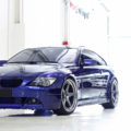 Interlagos Blue BMW E63 with HRE Classic 305 Wheels