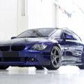 Interlagos Blue BMW E63 with HRE Classic 305 Wheels