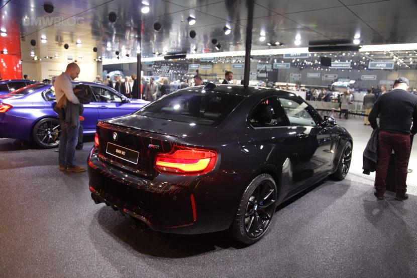 2018 Geneva Motor Show: BMW M2 Coupe Edition Black Shadow