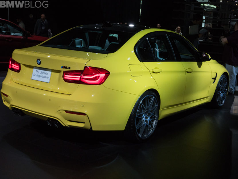 BMW M3 Dakar Yellow 2 830x623