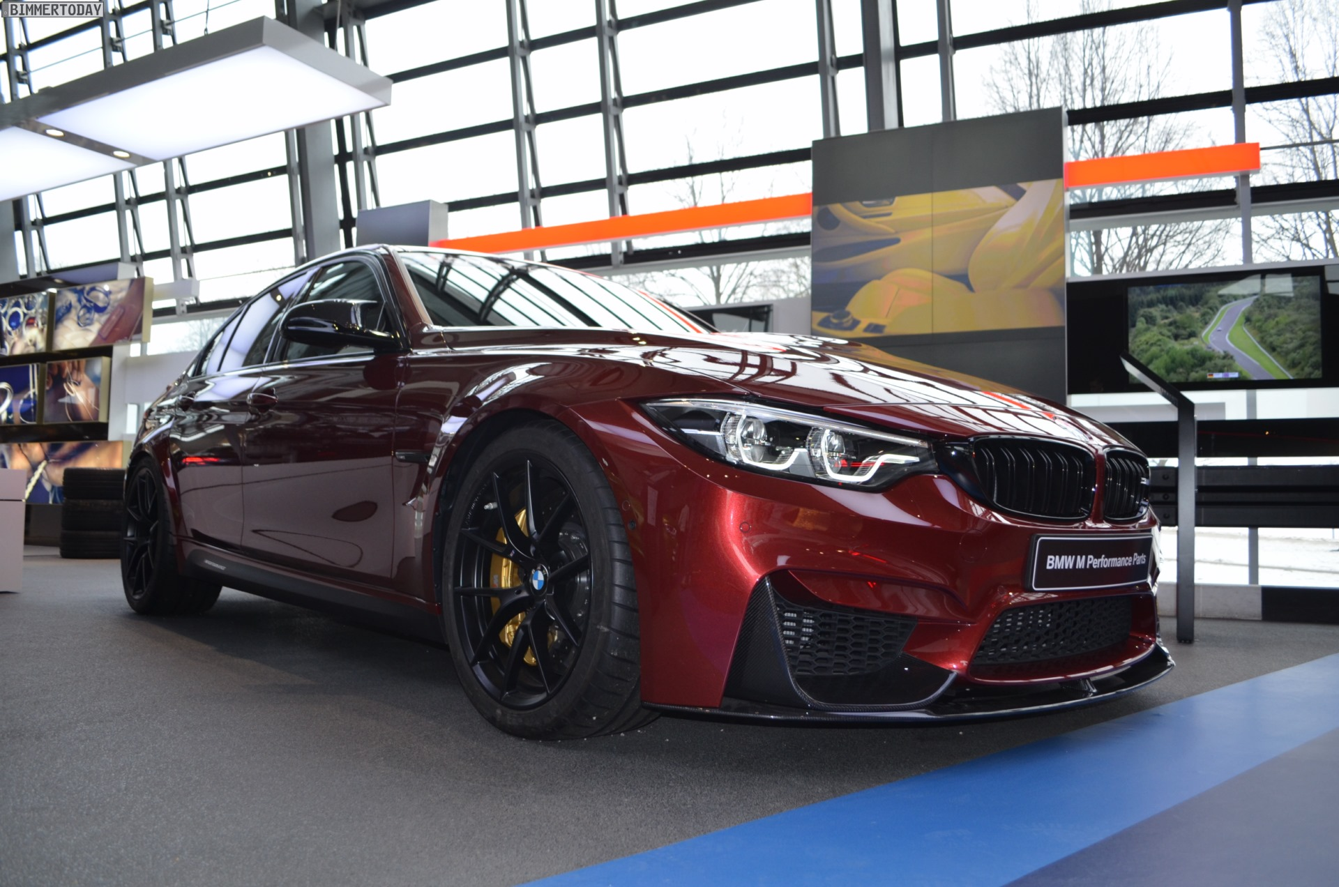 BMW M3 Individual Rubinrot II Ruby Red 13