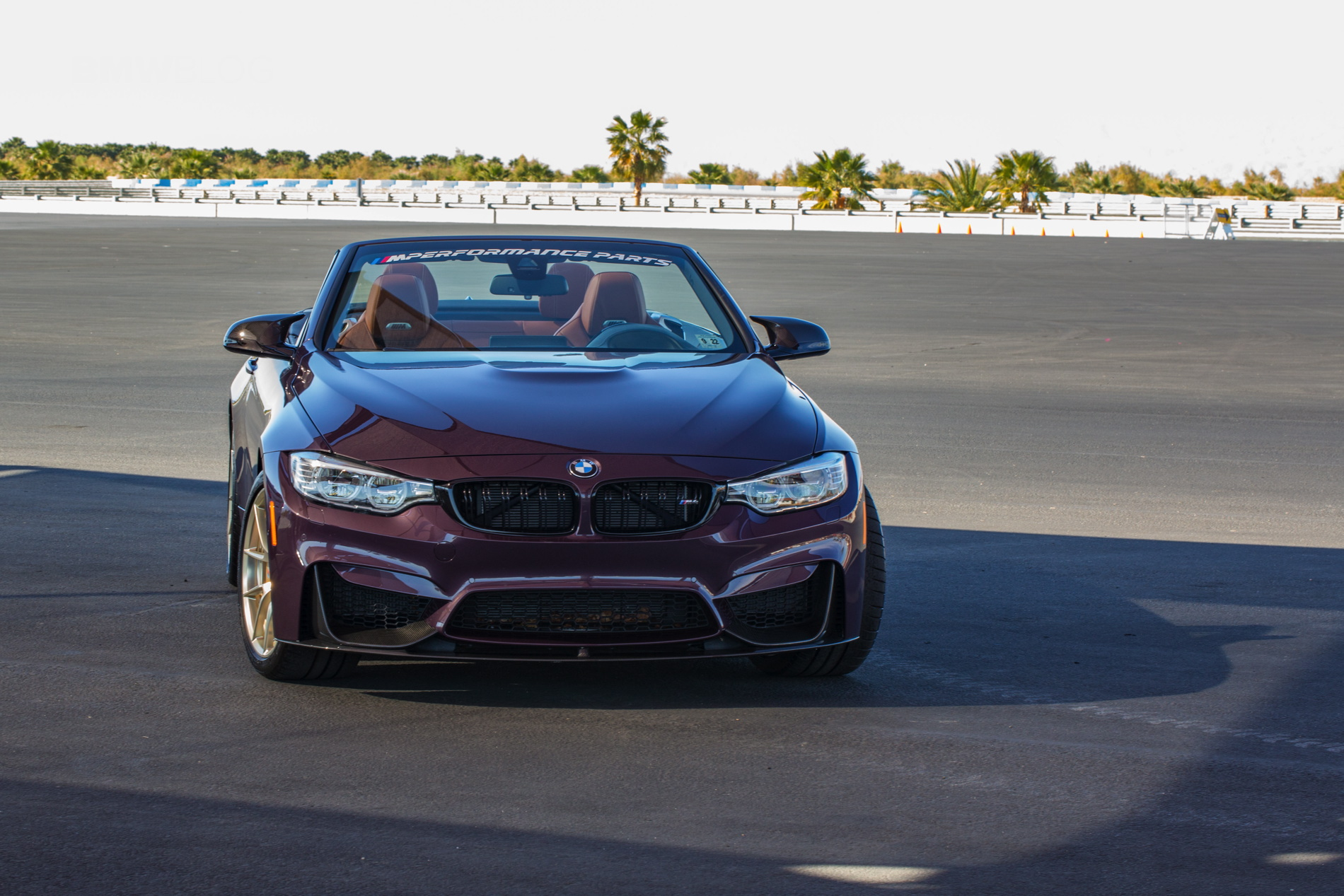 One-Of-A-Kind: BMW M4 Convertible in Tourmaline Violet