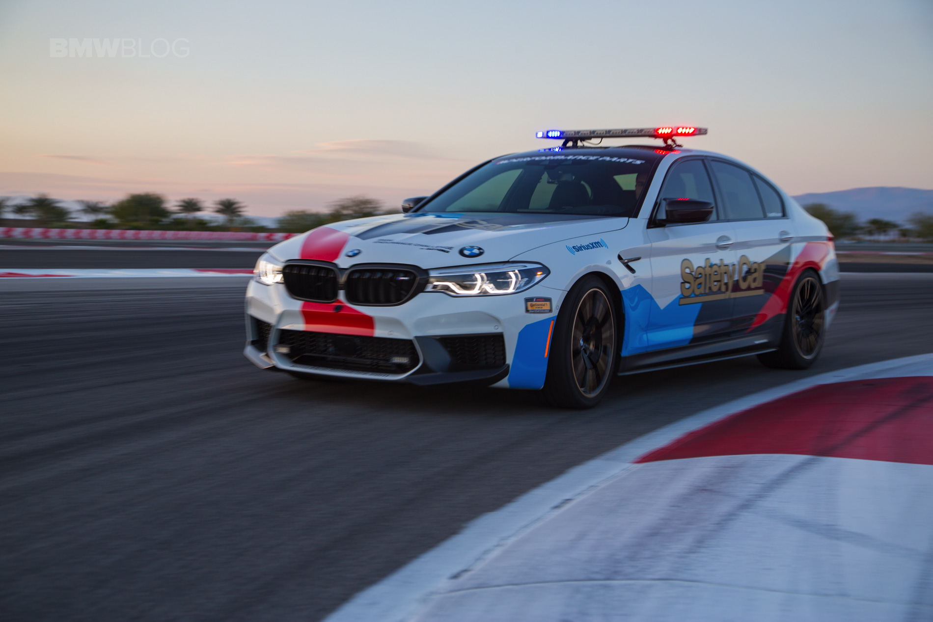 BMW M5 Safety Car Thermal Club 01