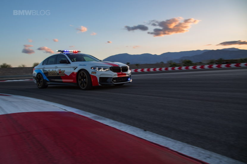 BMW M5 Safety Car Thermal Club 04 830x553