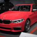 BMW M550i Ferrari Red 2 120x120