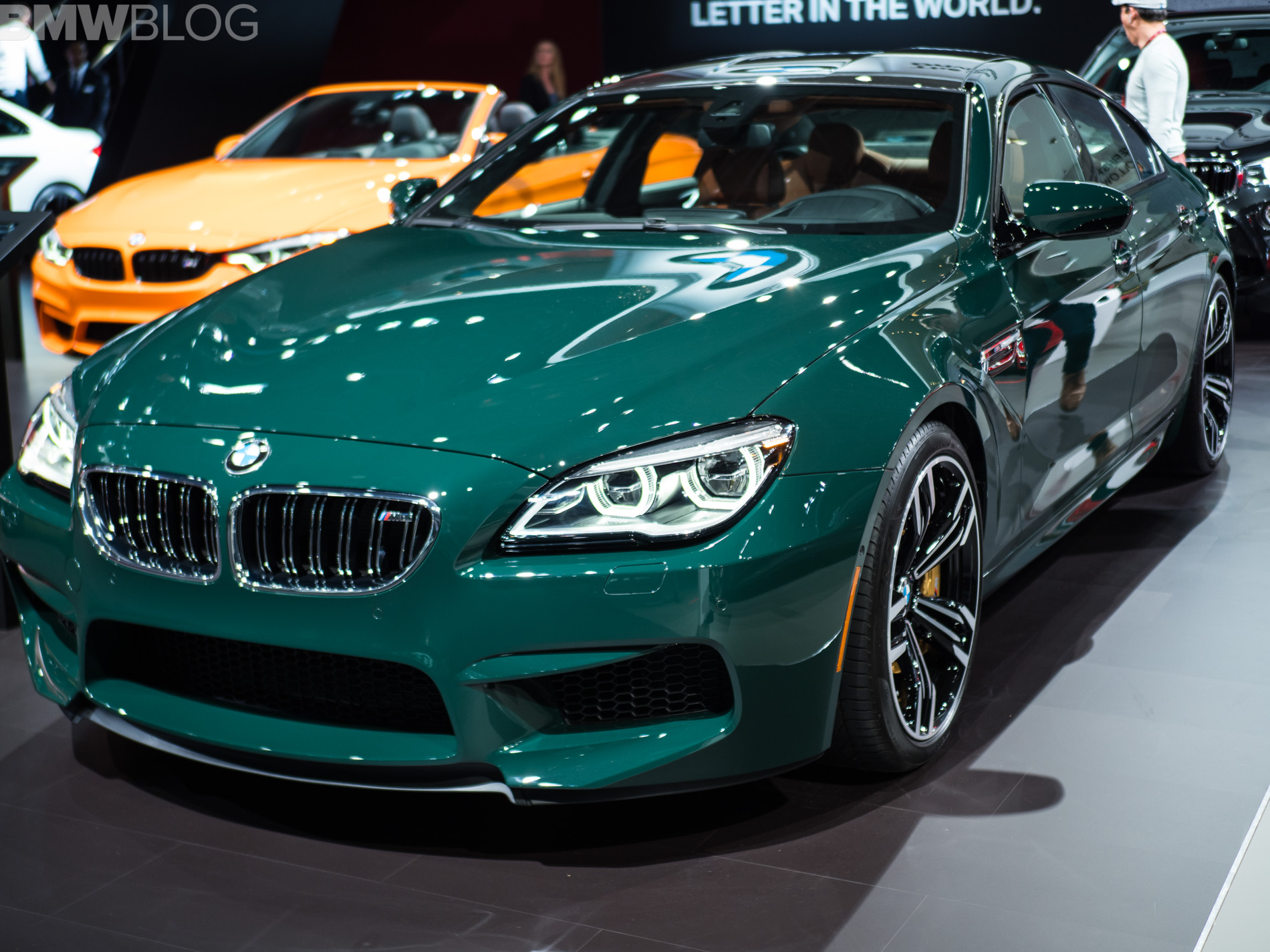 2018 nyias bmw m6 gran coupe in british racing green. Black Bedroom Furniture Sets. Home Design Ideas