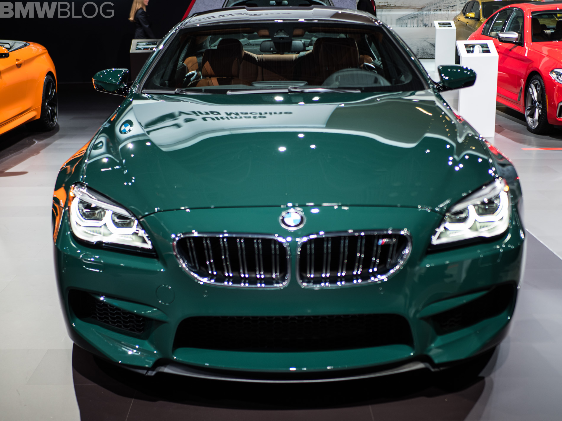 2018 NYIAS: BMW M6 Gran Coupe In British Racing Green