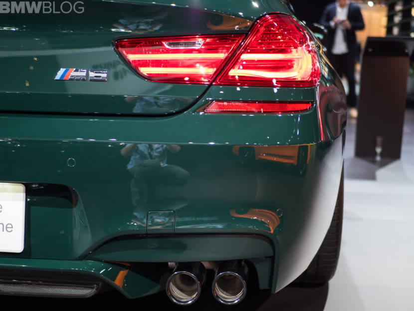 BMW M6 Gran Coupe British Racing Green 6 830x623