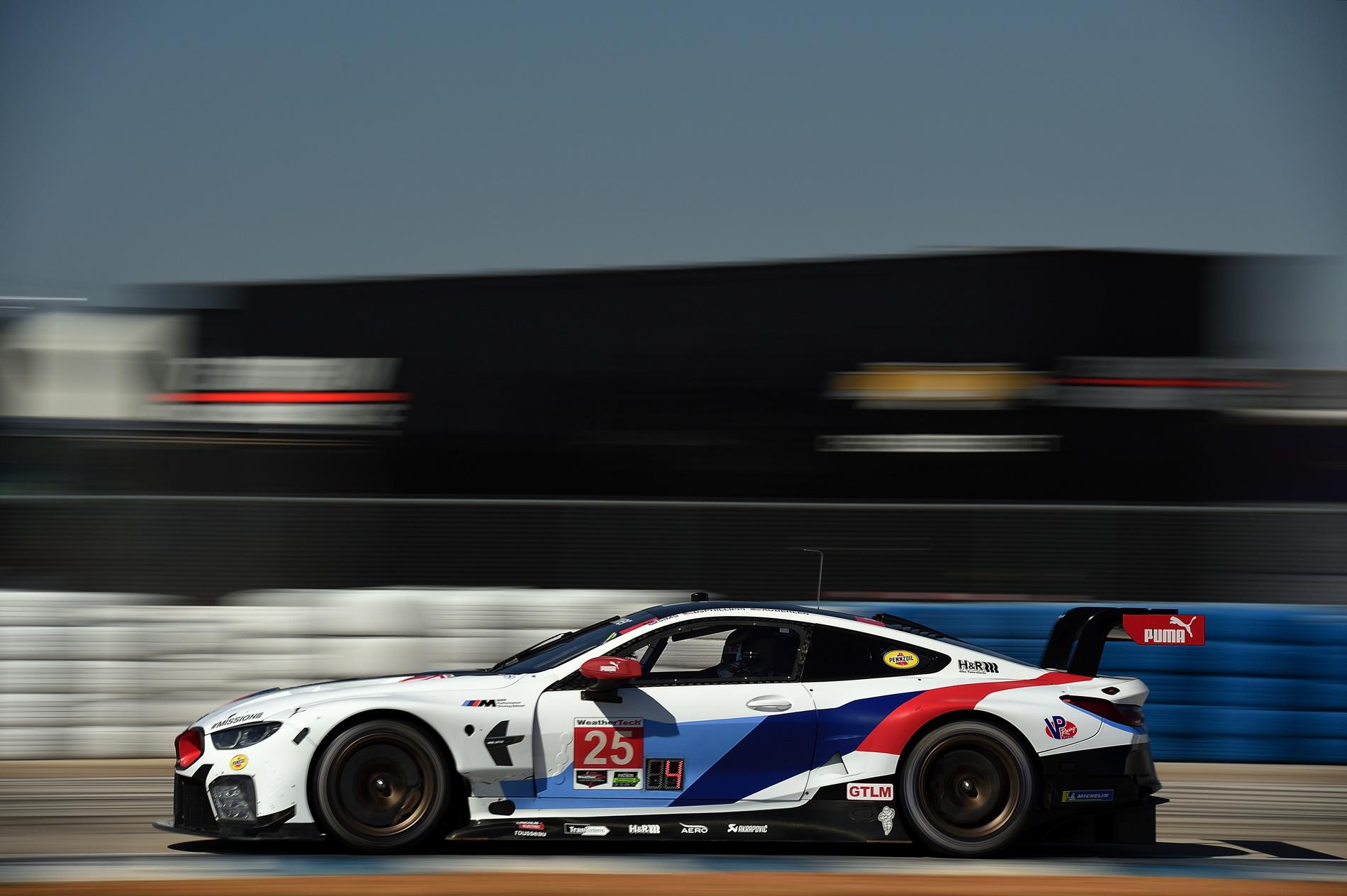 BMW M8 GTE pole Sebring 02