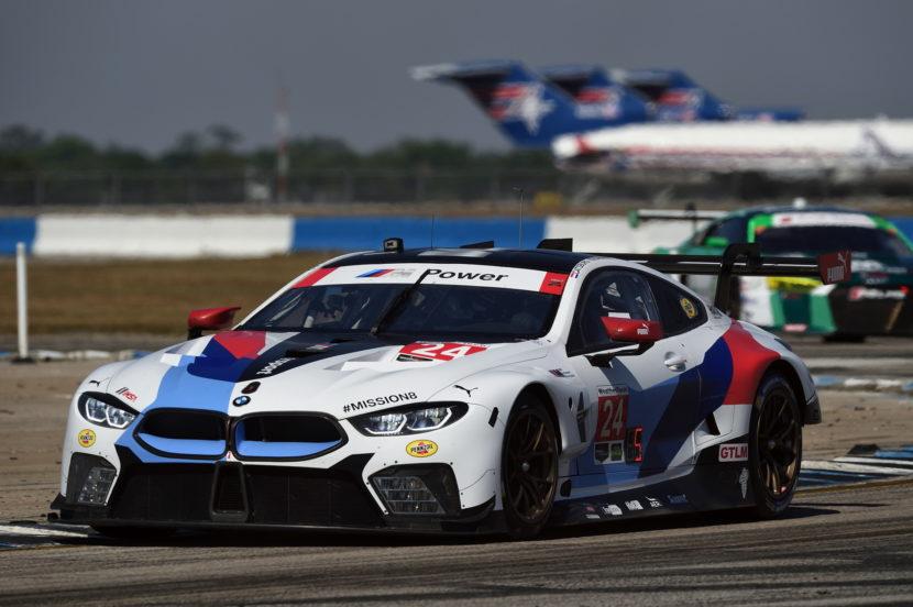 BMW M8 GTE pole Sebring 05 830x552