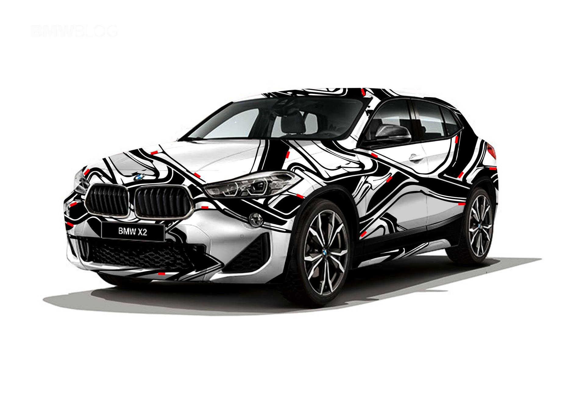 BMW X2 design Russia 03