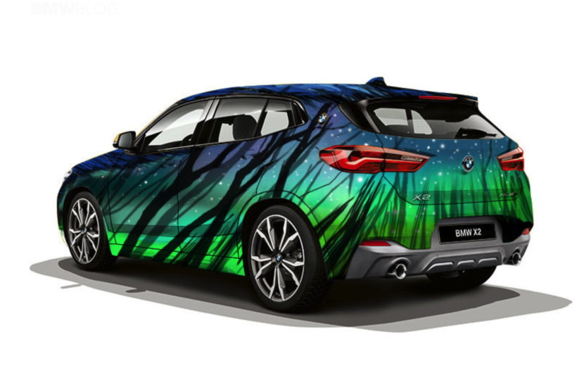 BMW X2 design Russia 21 830x553