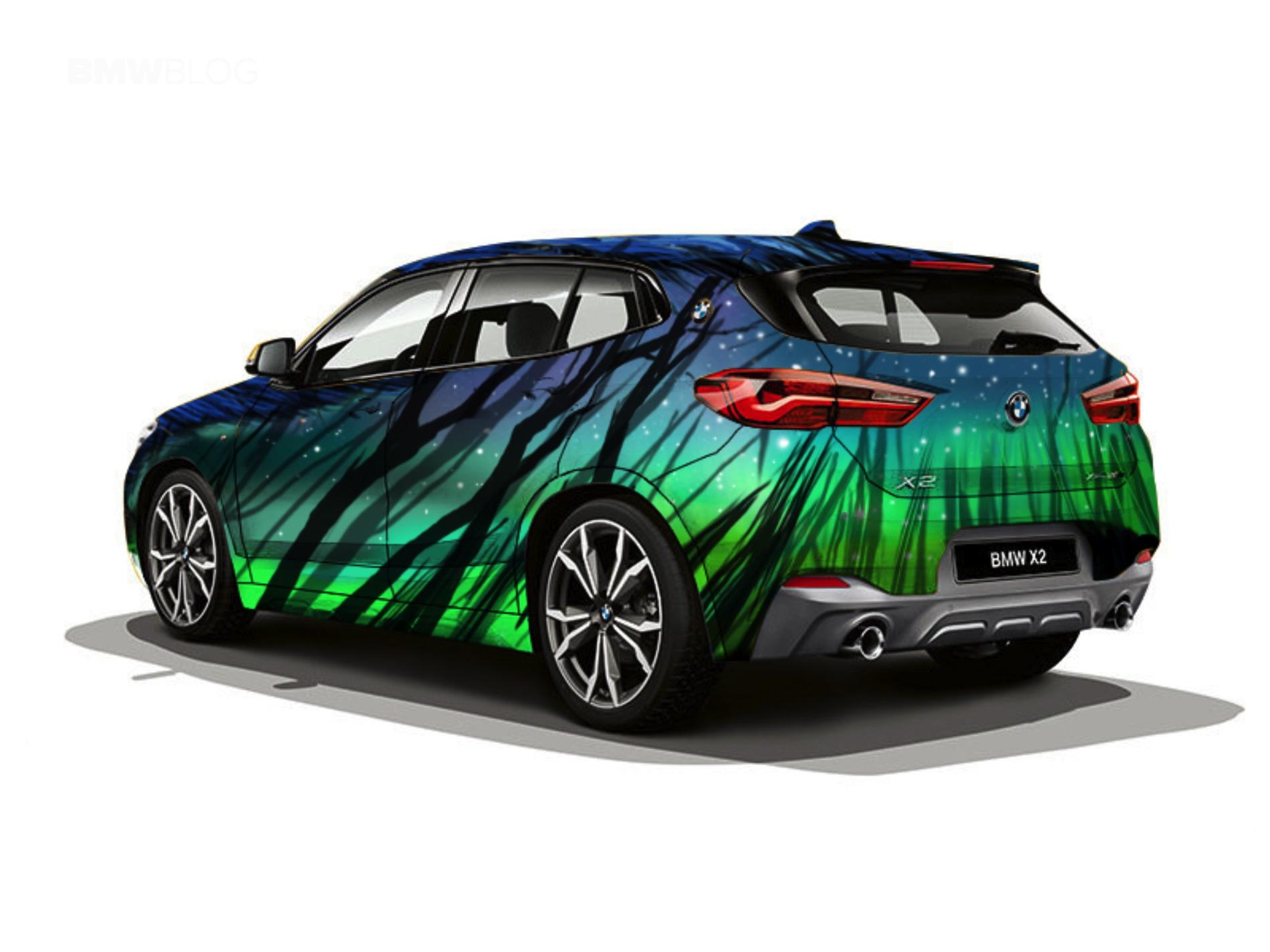BMW X2 design Russia 21