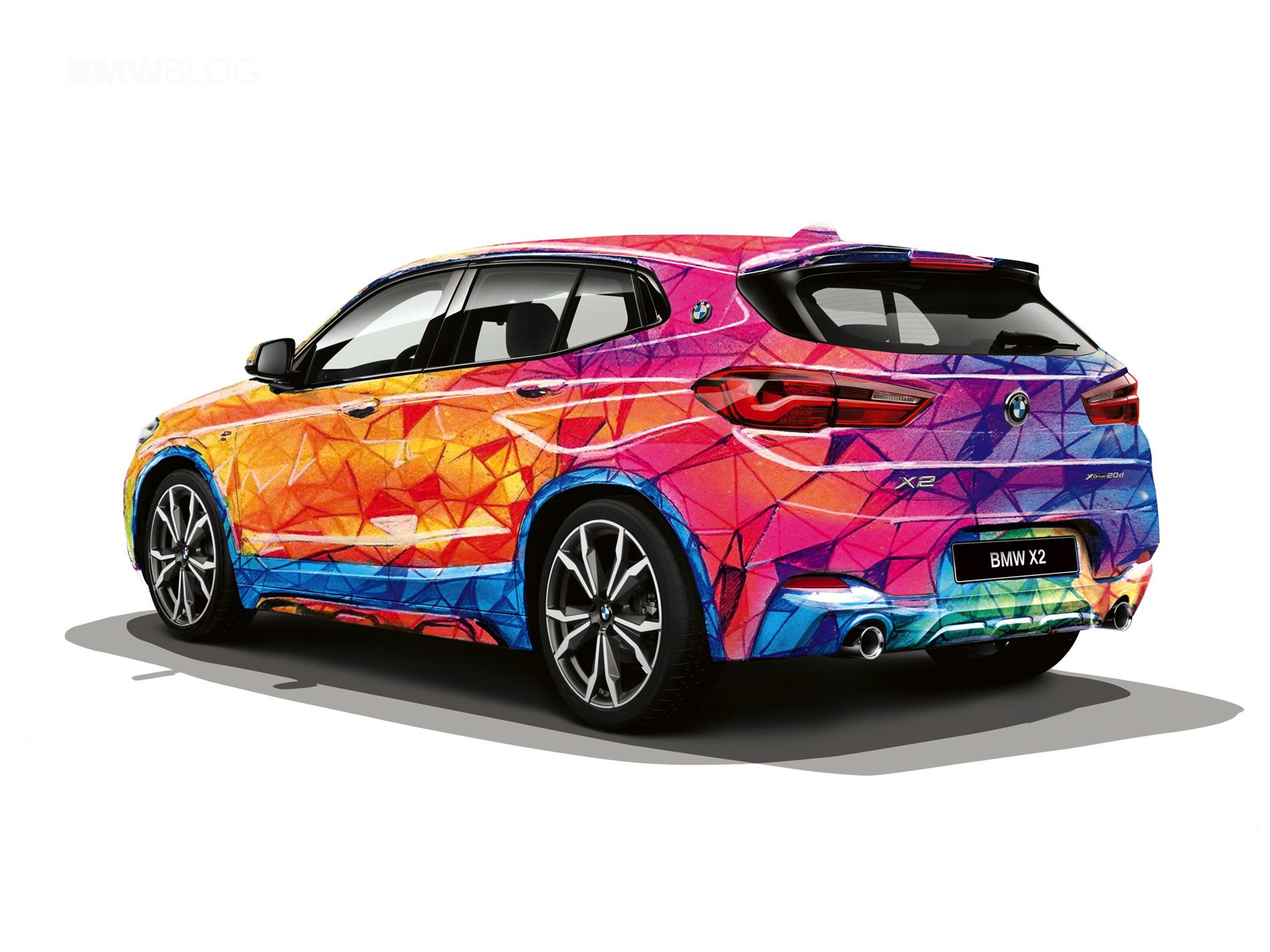 BMW X2 design Russia 25