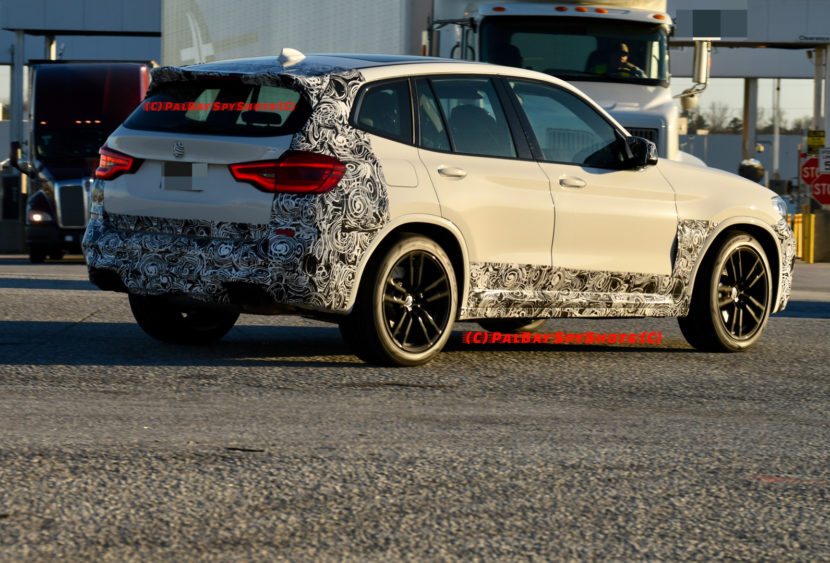 BMW X3M Spy Photos 6 830x563
