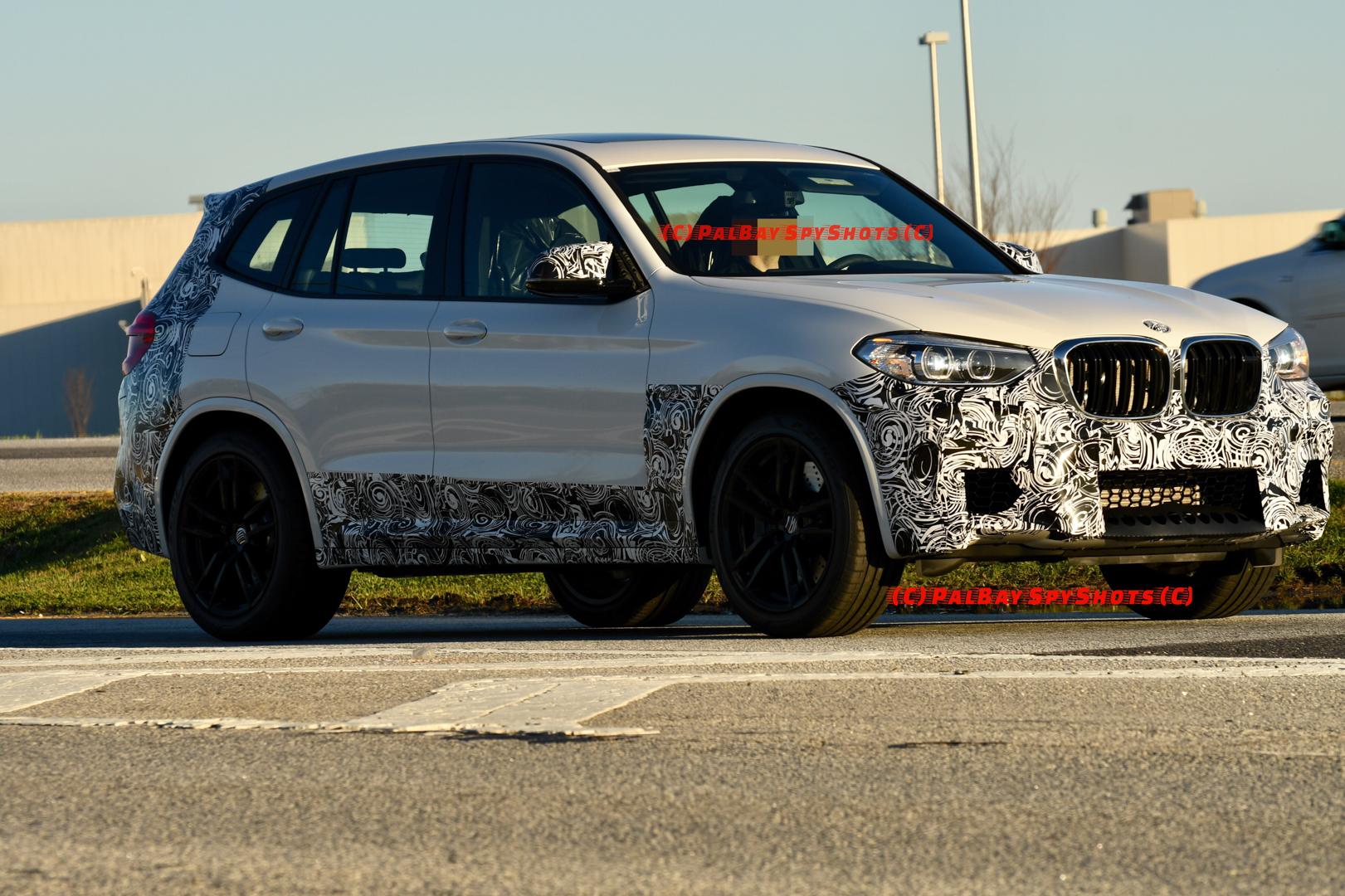 BMW X3M Spy Photos 7