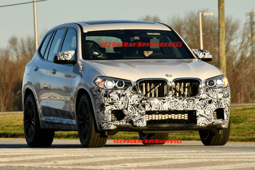 BMW X3M Spy Photos 830x553